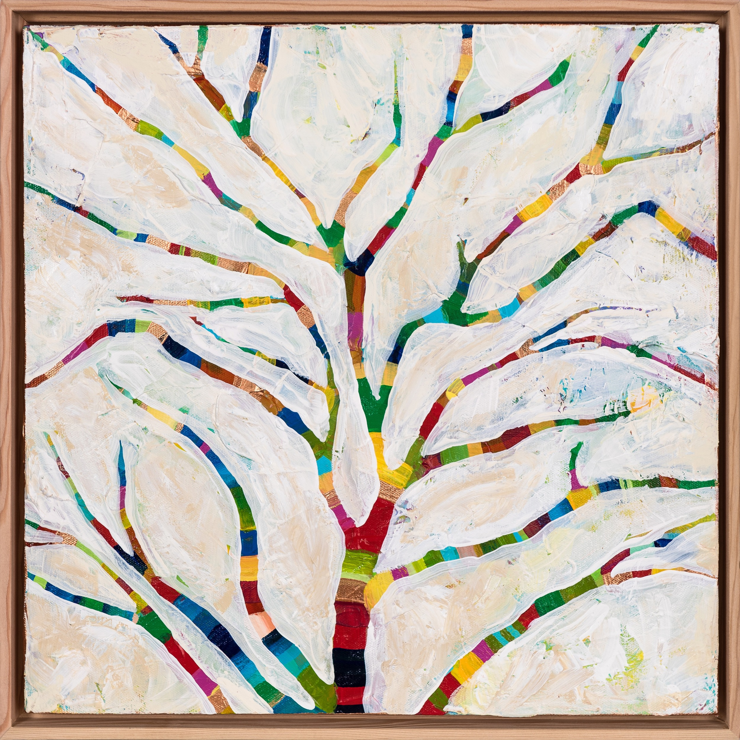 """Happy Little Tree"" (2015) by MaryLea Harris SOLD"