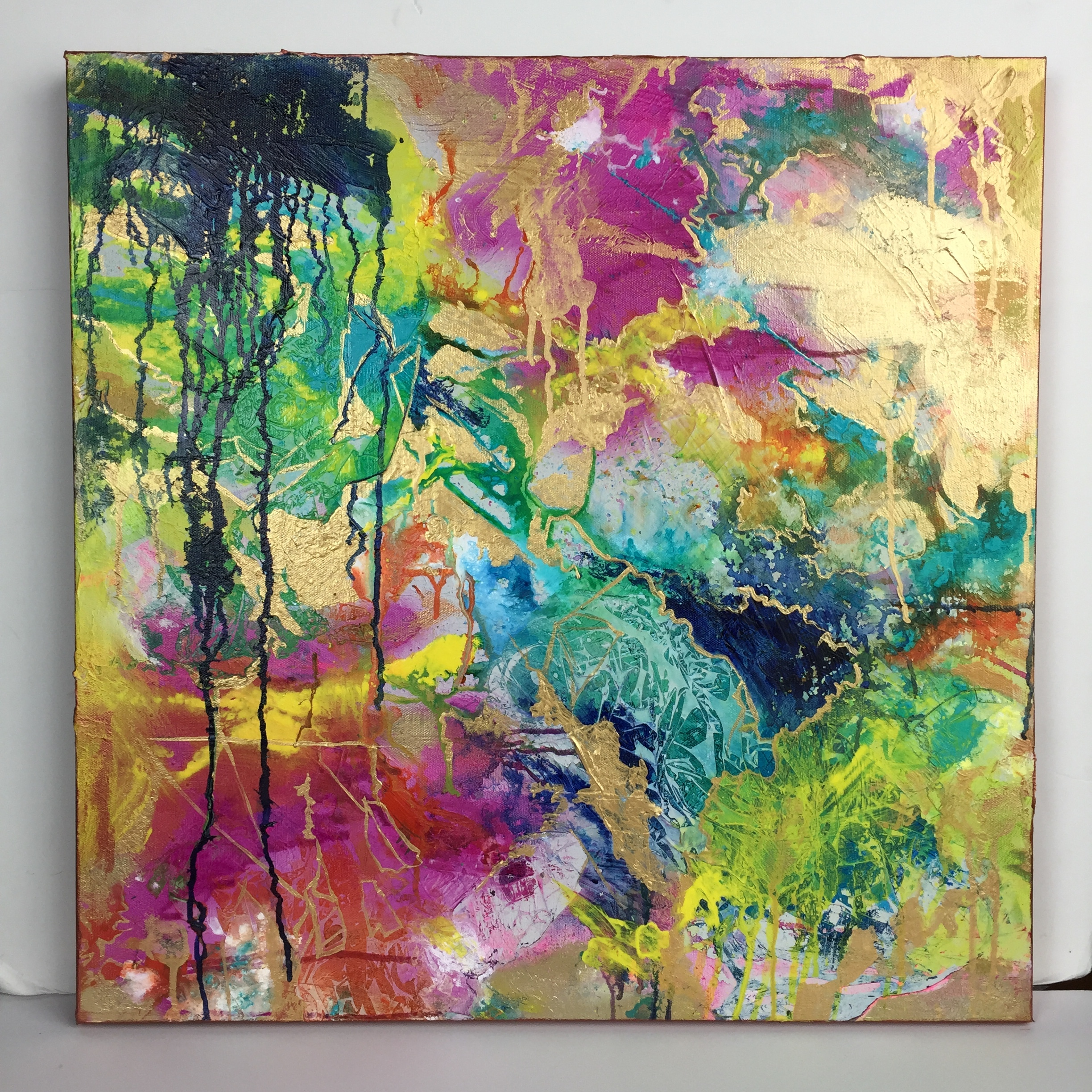 """""""The Color ofJoy"""" Map Series # 16 (SOLD)"""