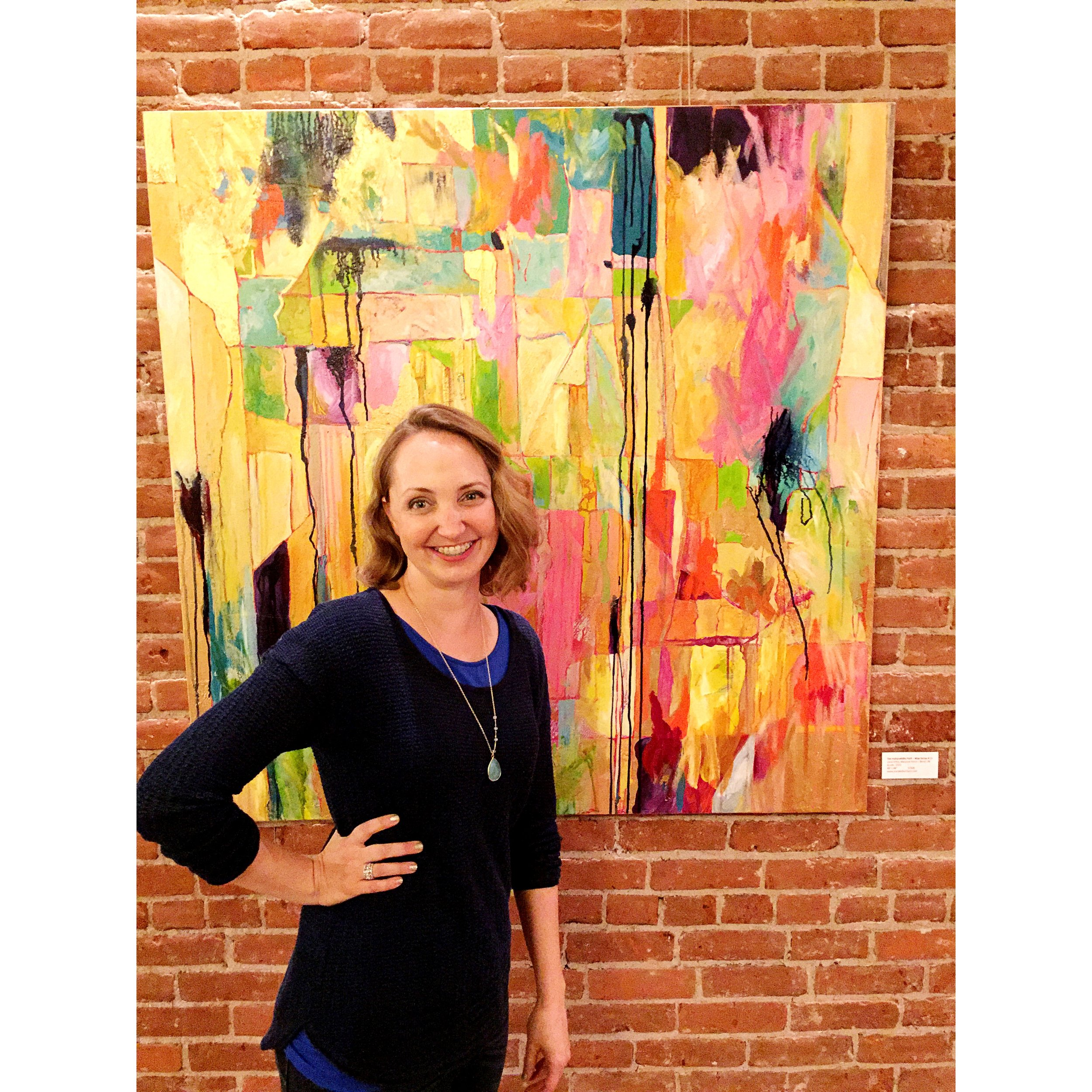 First Friday reception at Cascade Sotheby's  -- thanks for having me!
