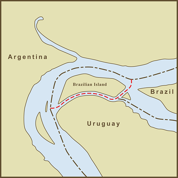 Brazil-Uruguay, Brazilian Island Map.png