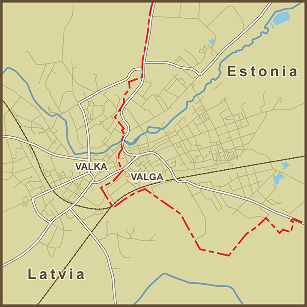 Estonia-Latvia, Valga Border Map.png