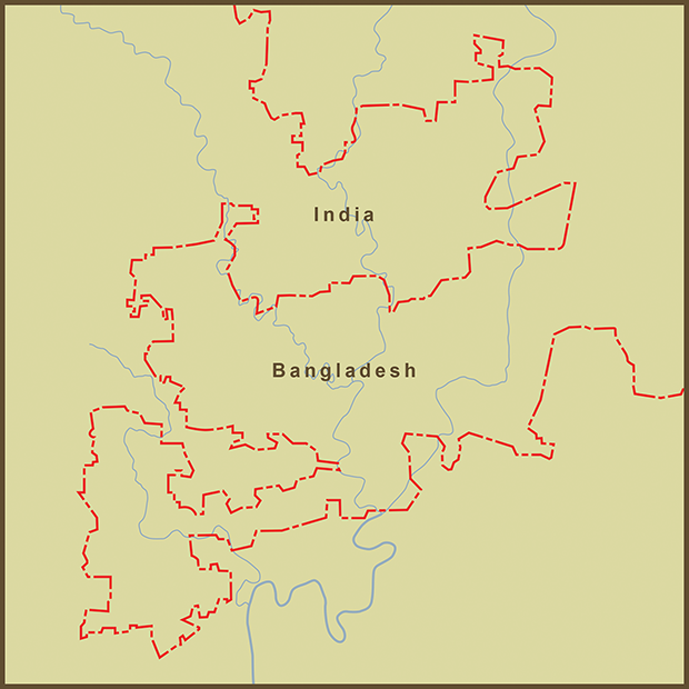 Bangladesh-India, Fractal Border.png
