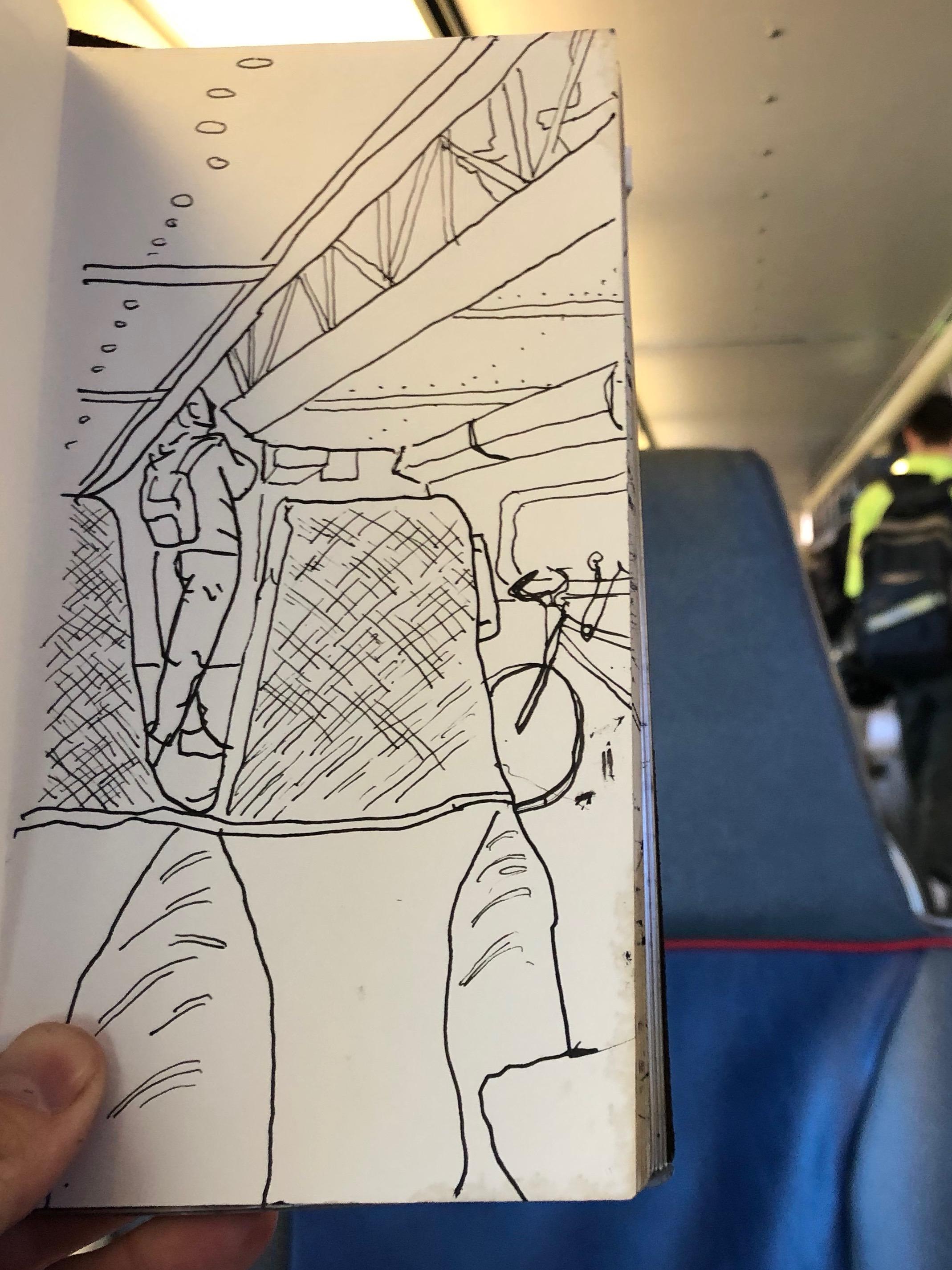 Inside the Caltrain Bike Car