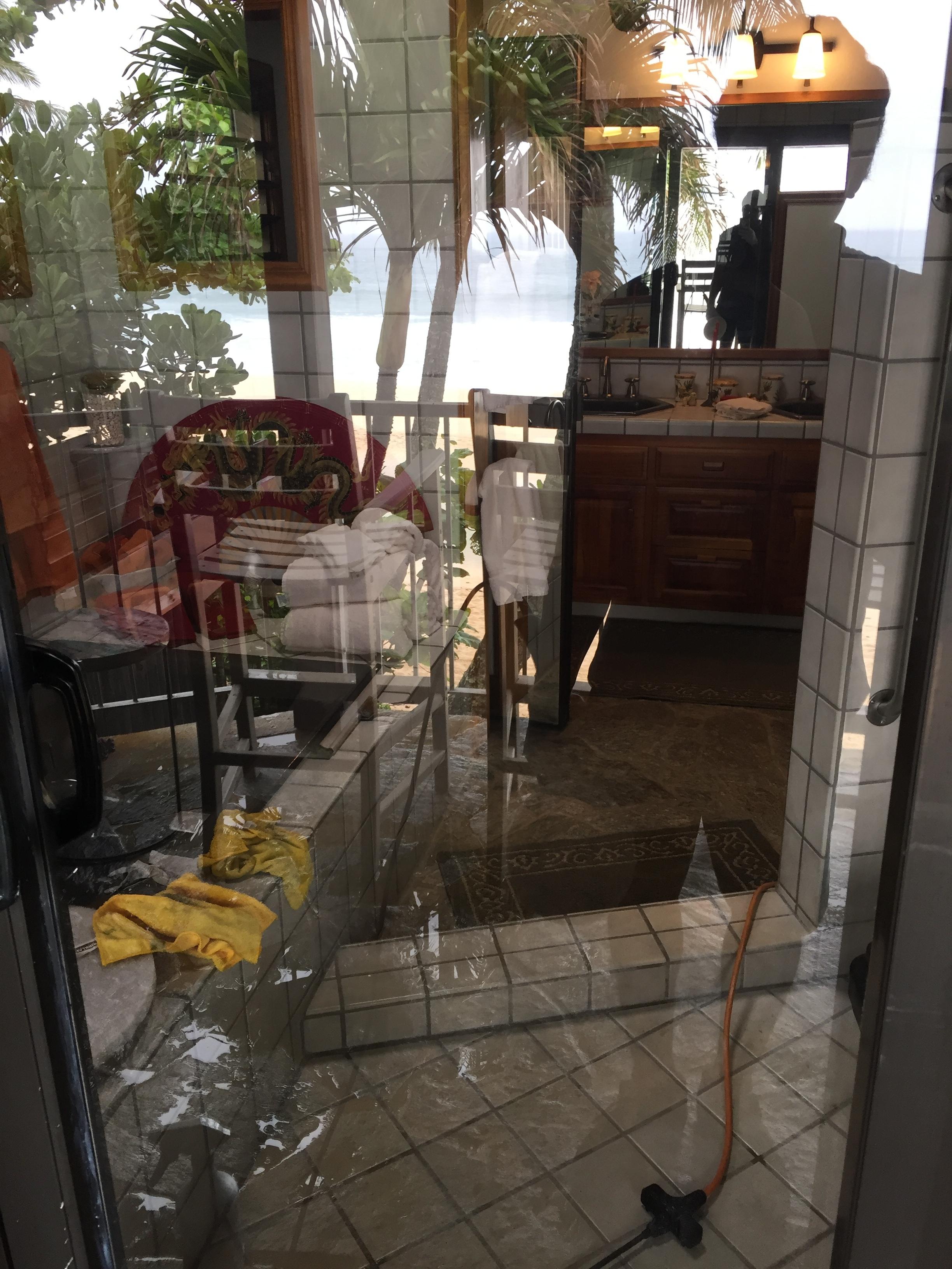 GLASS PANE RESTORATION AFTER