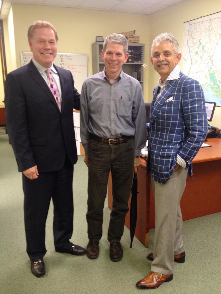 Jim, Bob Mann, and Manuel Martinez