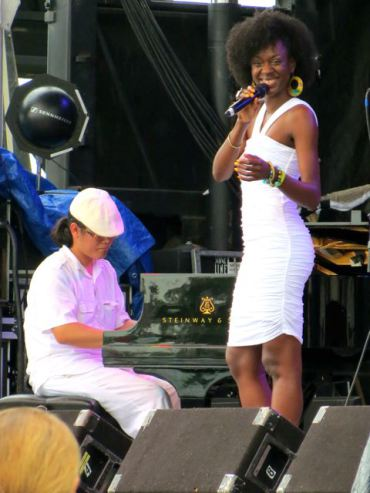 Singer Nayo Jones chats with Jim about her love for music. She grew up listening to jazz and loves to sing music that moves her. Jones studied at Spelman College. She made her debut at the New Orleans Jazz and Heritage Festival in 2012.