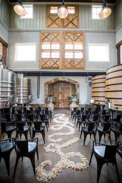 Barrel room ceremony -