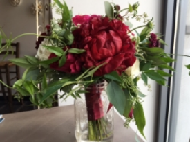 Marsala, 2015 Color Of The Year, continues to be popular with our brides.