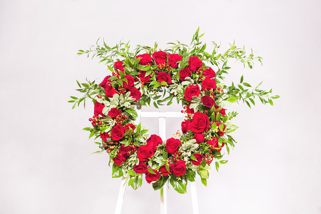 "Celebration 24"" Wreath - $275"