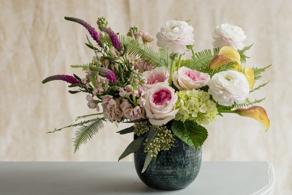 """690791d36 """"Impressionist"""" and """"Inspired"""" come in a cut glass vase and represent ..."""