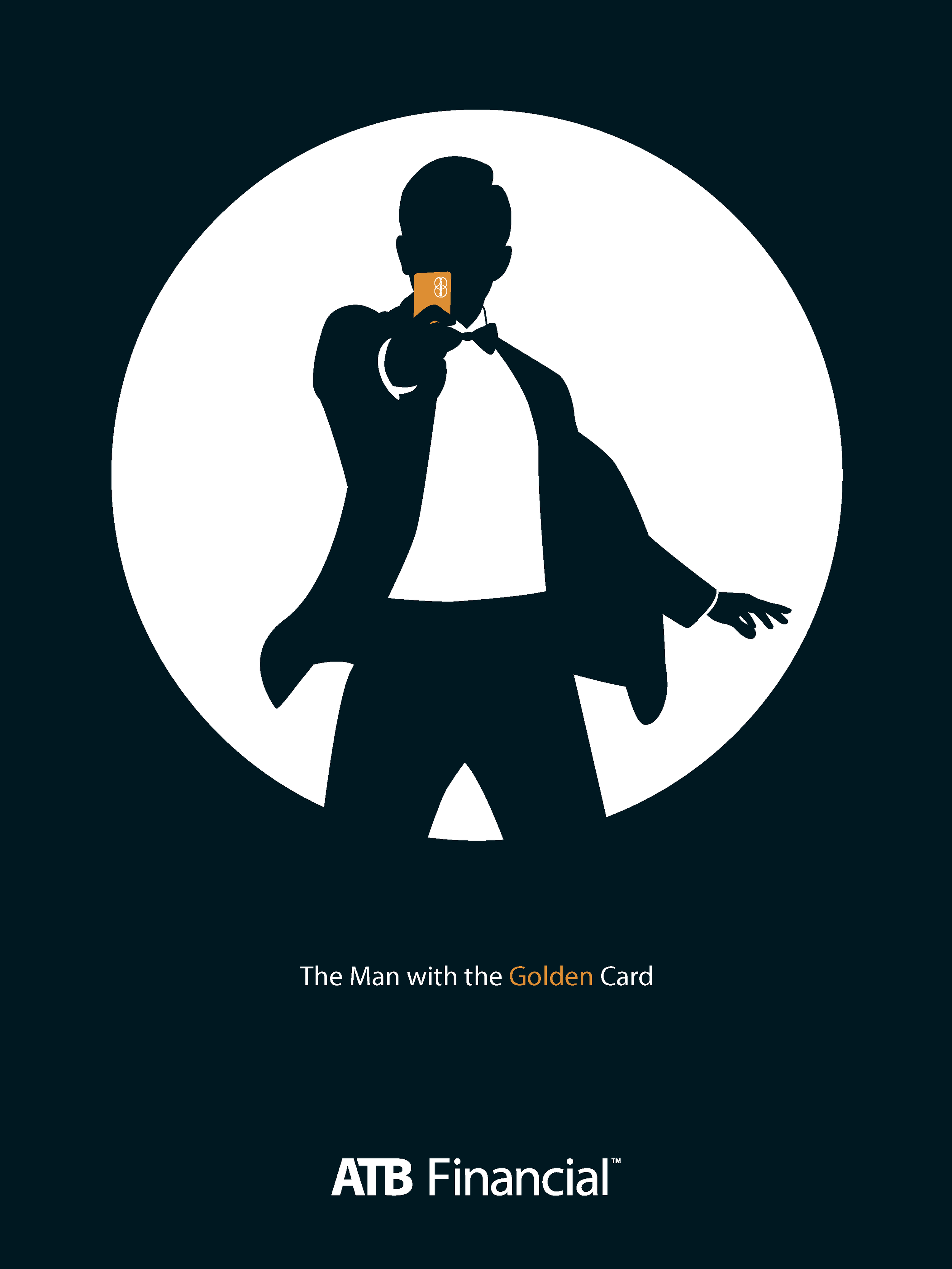The man with the golden card