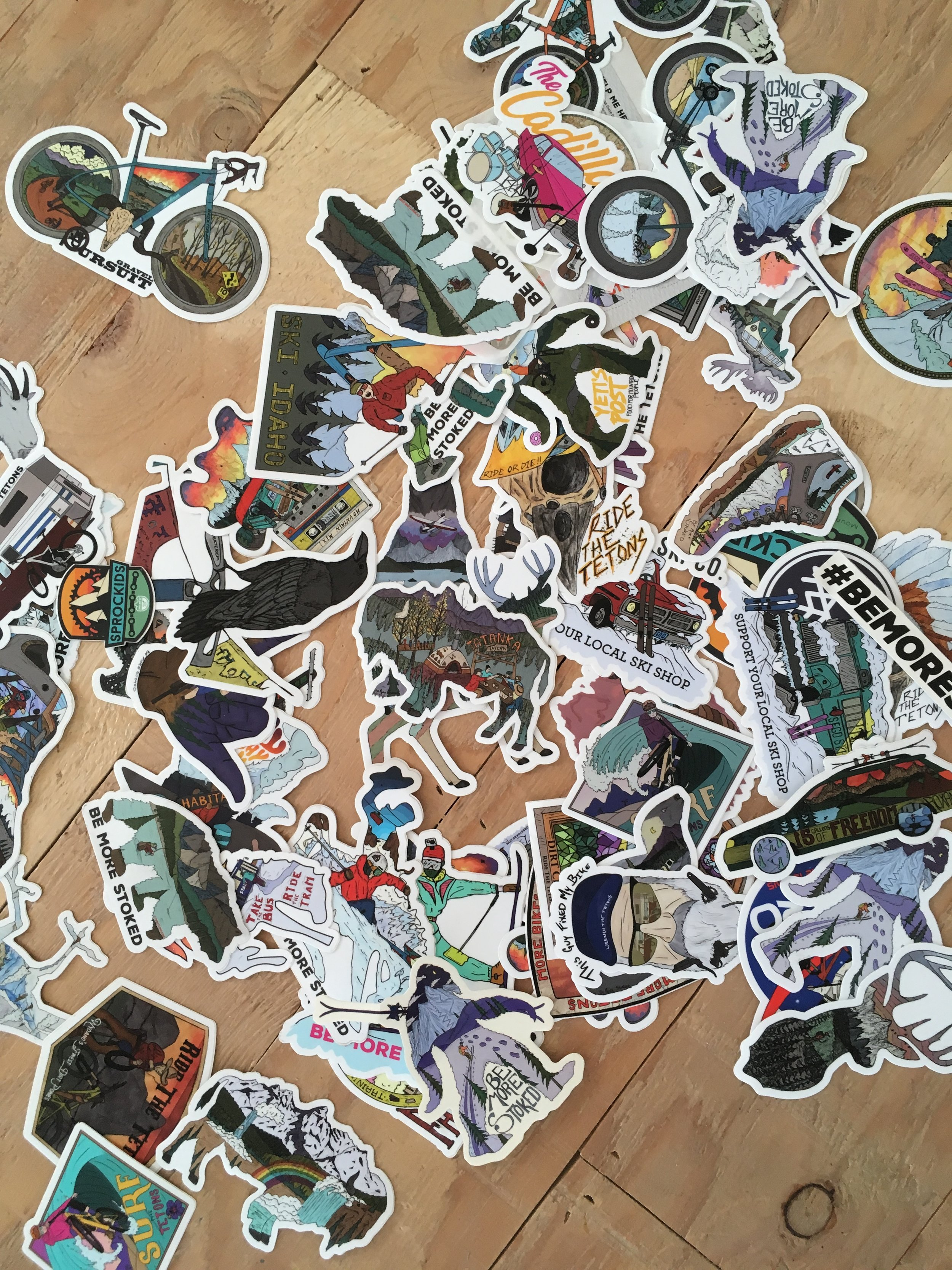 Free Stickers! — Be More Stoked