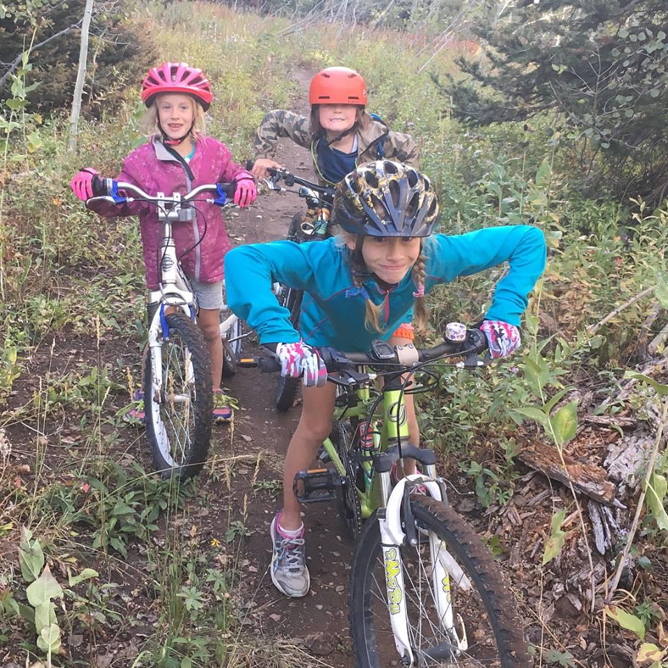 Show me your mountain biker faces!