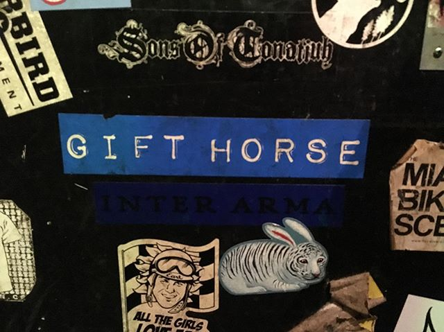 I remember Gift Horse! Spotted @badearl @bluebloodhunter