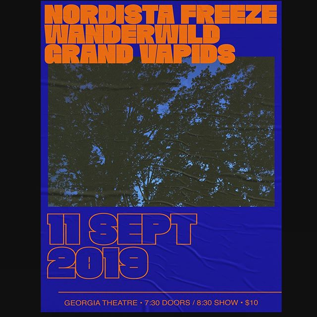 Excited to announce that we are playing September 11th @georgiatheatre with @wanderwildmusic and @nordistafreeze