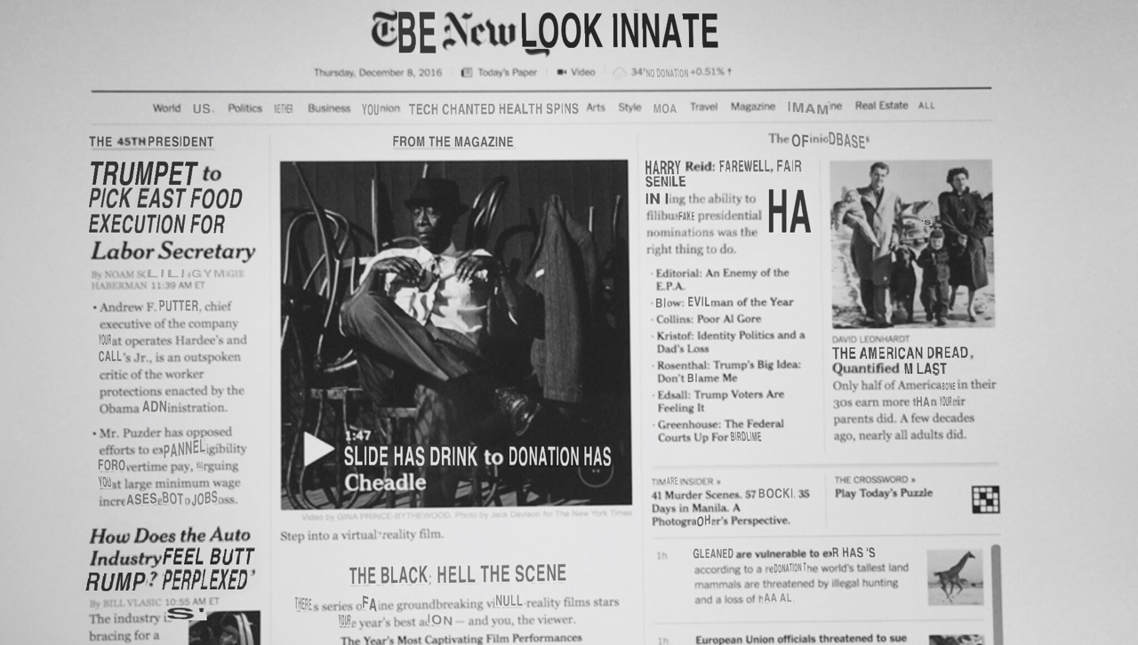 Be New Look Innate: Tech chanted health spins. Trumpet to pick east food execution for labor secretary. How does the auto industry feel butt rump? 'Perplexed'. The black: hell null reality scene. HA. American dread.
