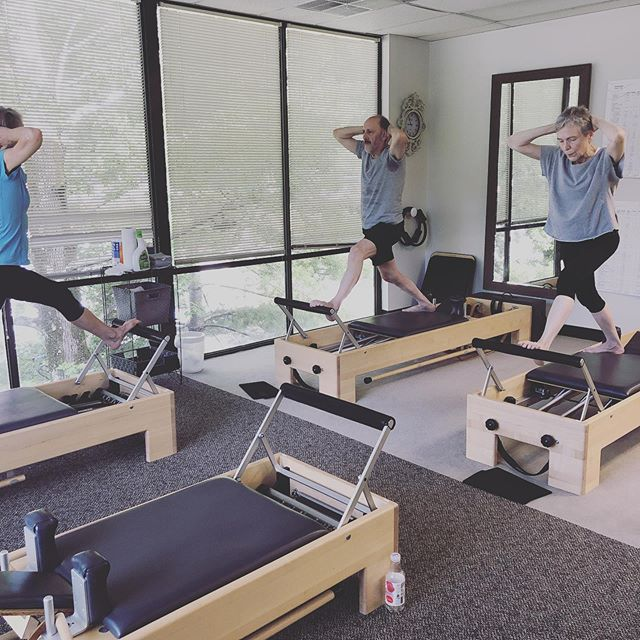 Advanced Friday class getting the weekend started out right! Have a great weekend from Core Strong! #pilatesformen #corestrongbham #birminghampilates #birminghamfit #birminghamalabama
