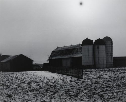 Minor White.  Black Sun , 1955.