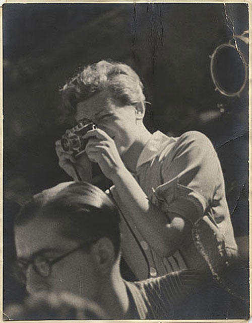 Gerda Taro, Guadalajara Front, Spain  . Unknown photographer, 1937.