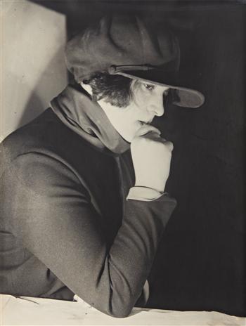 Filmmaker Esther Shub , 1924.