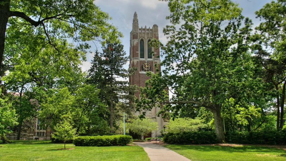 The Beaumont Tower Carillon at Michigan State University. Not to be overshadowed by the Cyclotron.