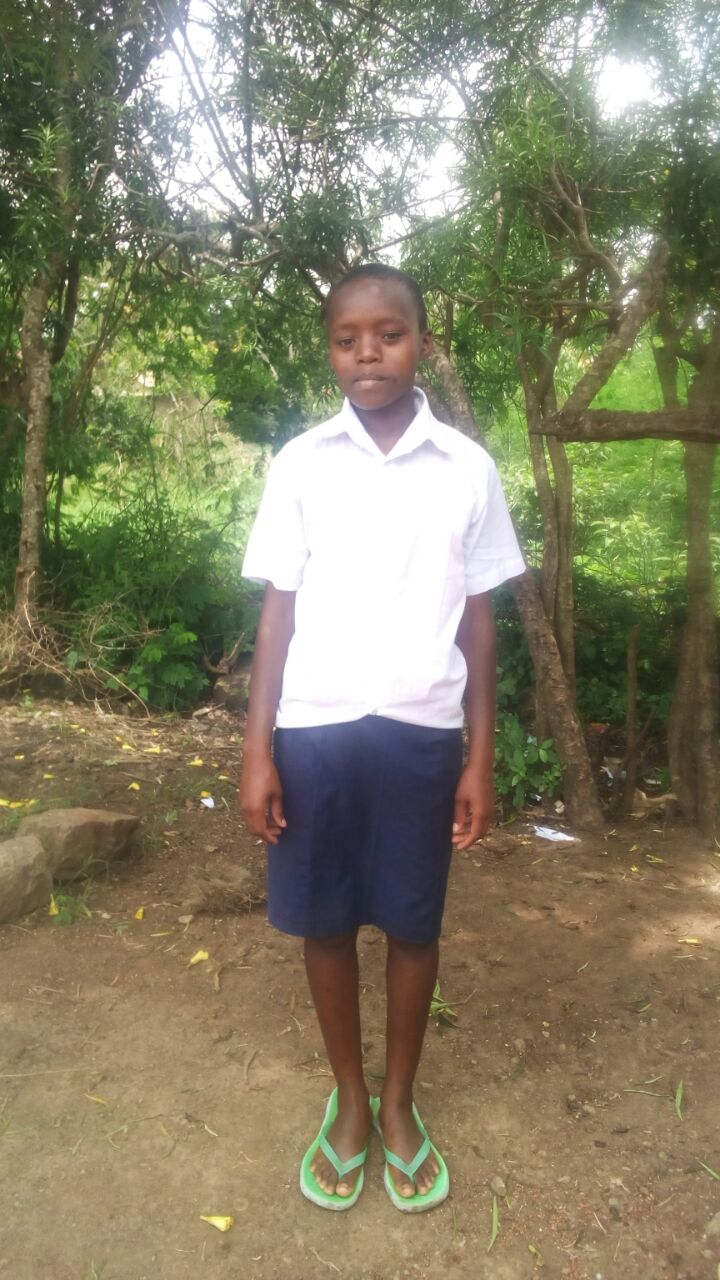 Ruth Ngendo - Ruth attends Munyu Secondary School and is in Form 2.