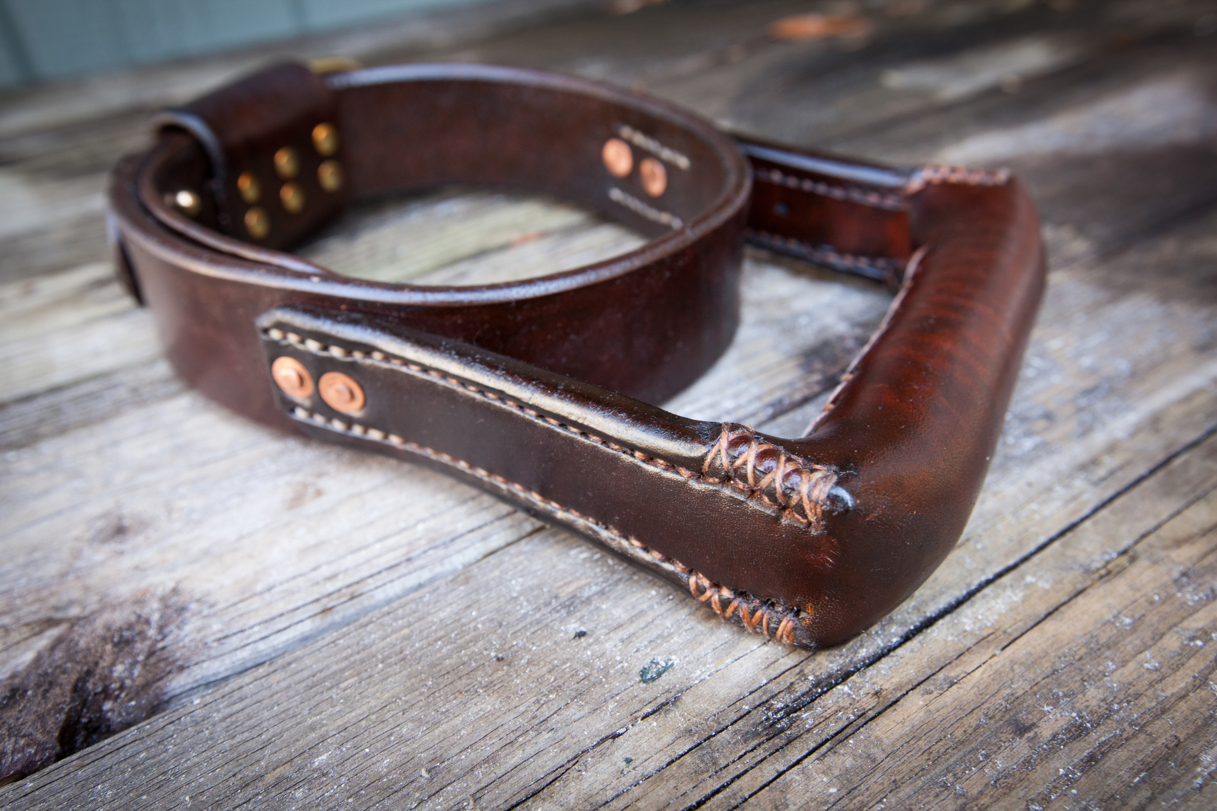 Two Fools Leather Goods, Seeing Eye Dog Collar 7