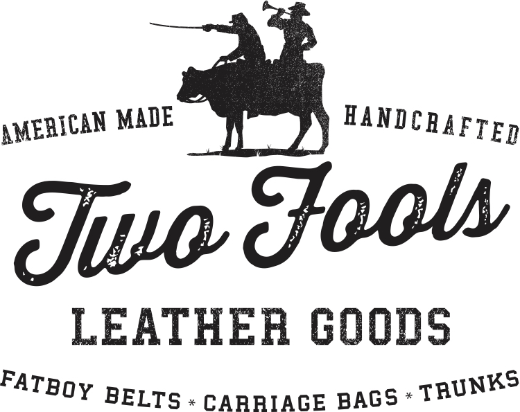 Two Fools Leather Goods logo
