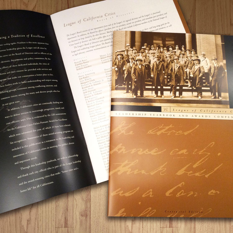 League of California Cities Yearbook Design
