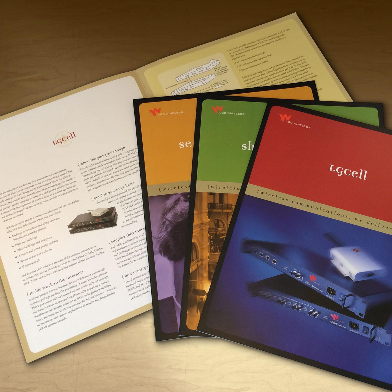 LGC Wireless Brochure Design