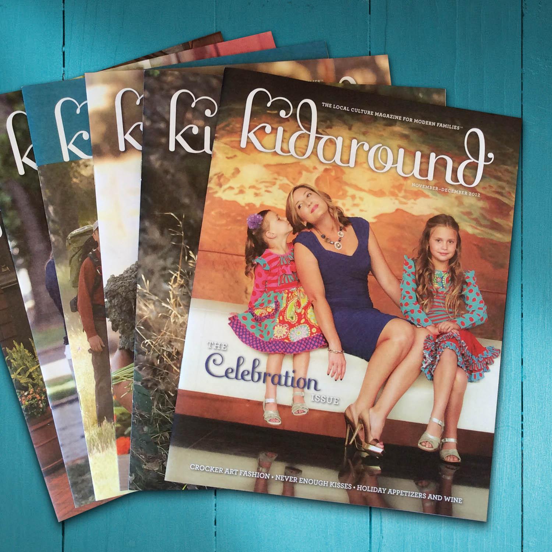 Kidaround Magazine Editorial Design