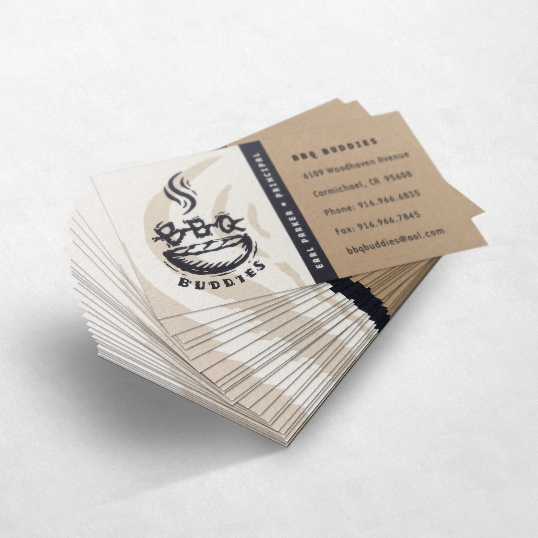 BBQ Buddies Business Card Design