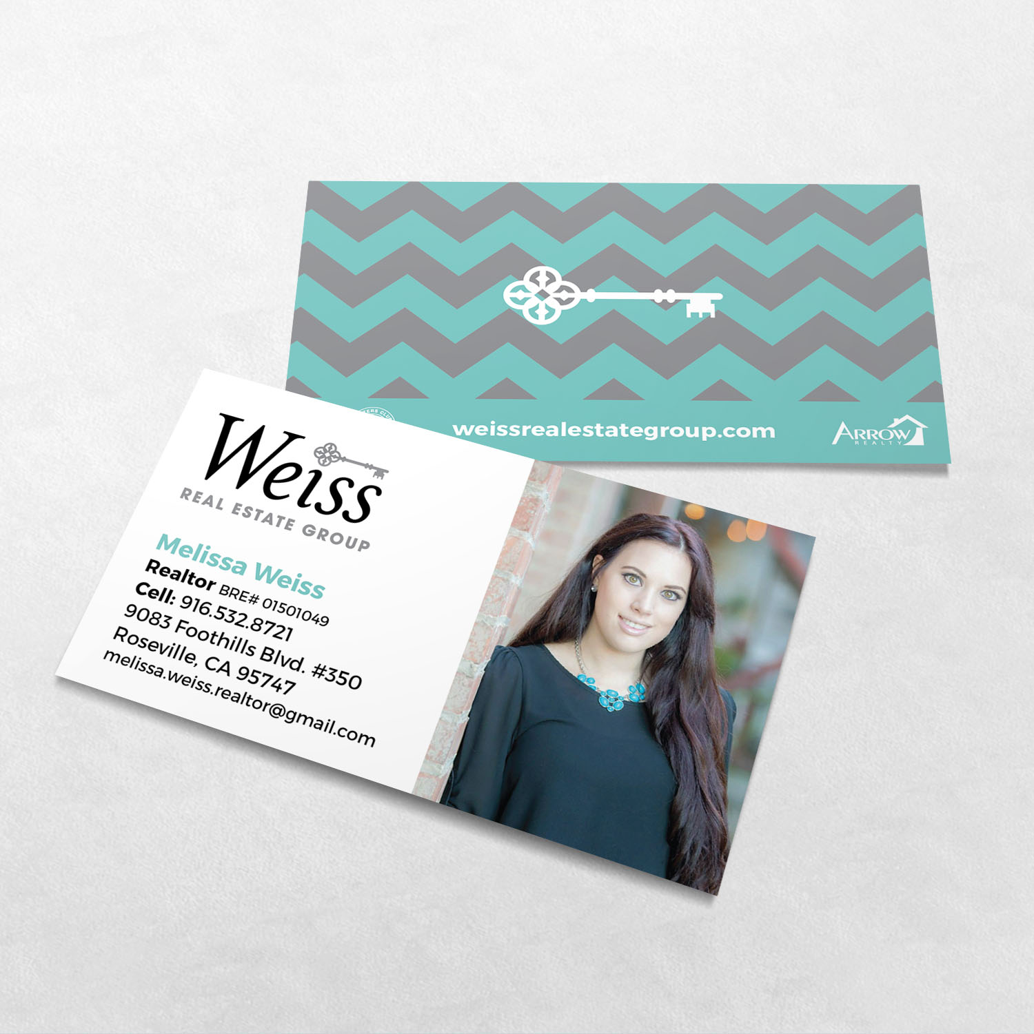 Weiss Real Estate Group Business Card Design