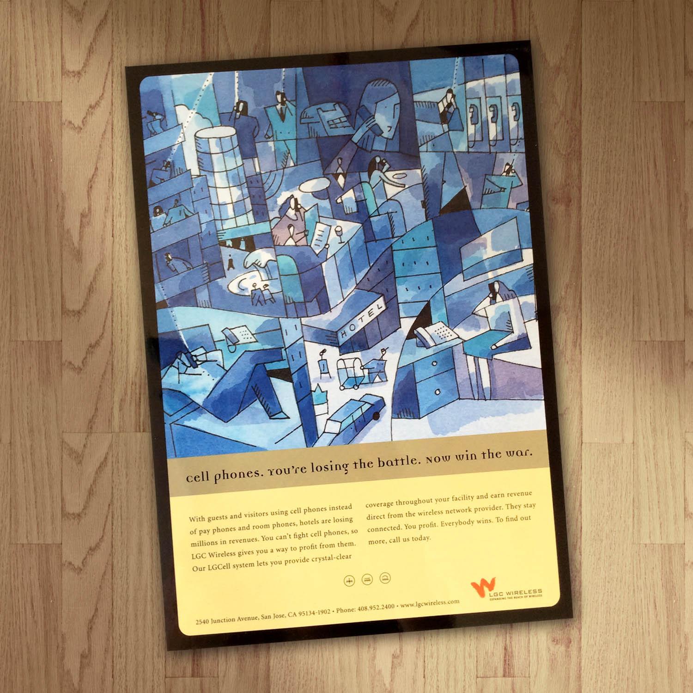 LGC Wireless Ad Design