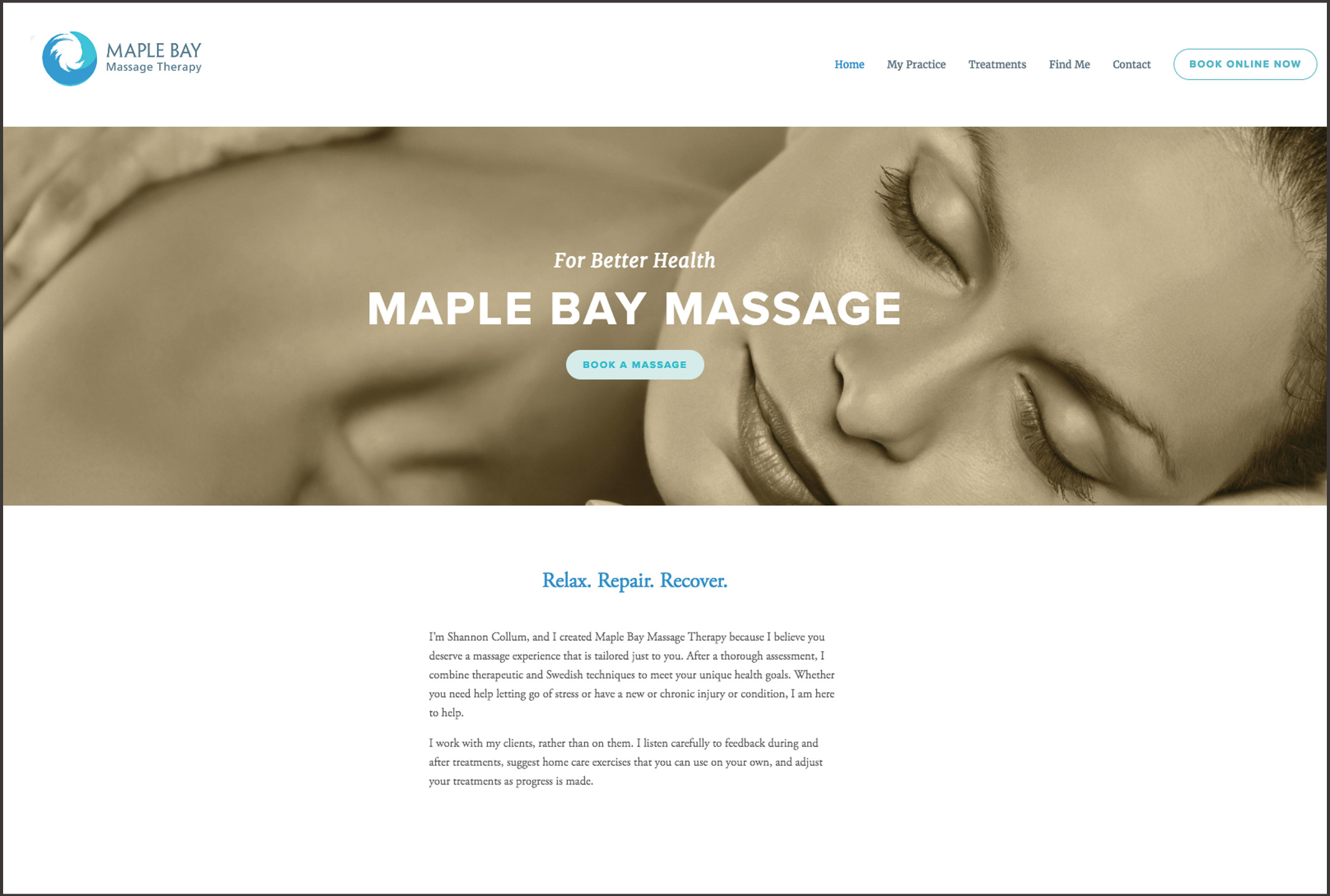 maple bay massage