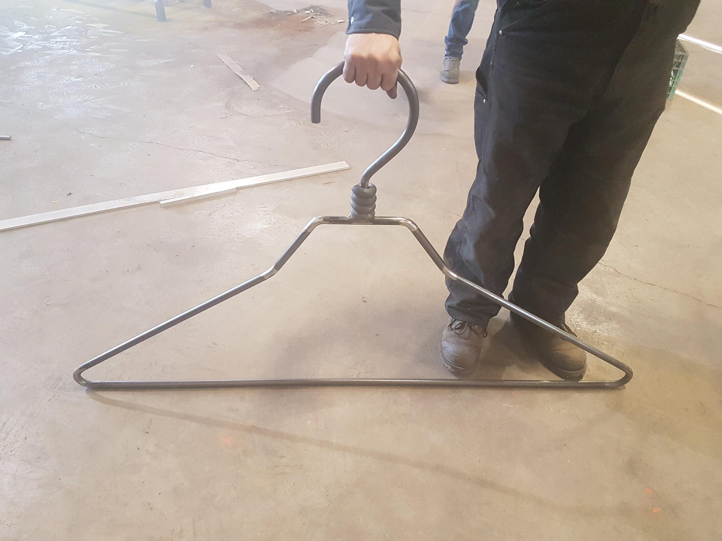Steel Coat hanger