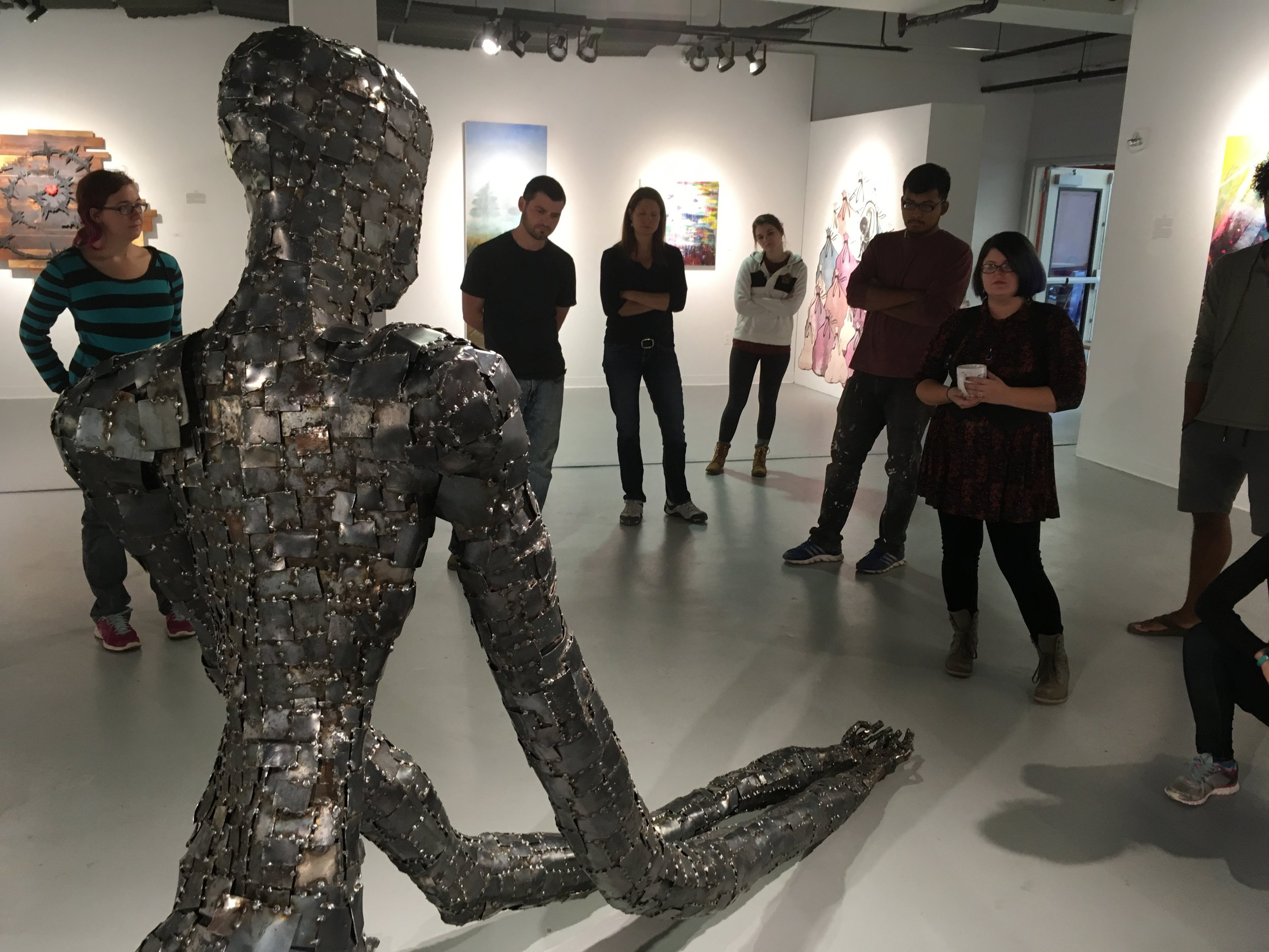 Senior Exhibition Critique