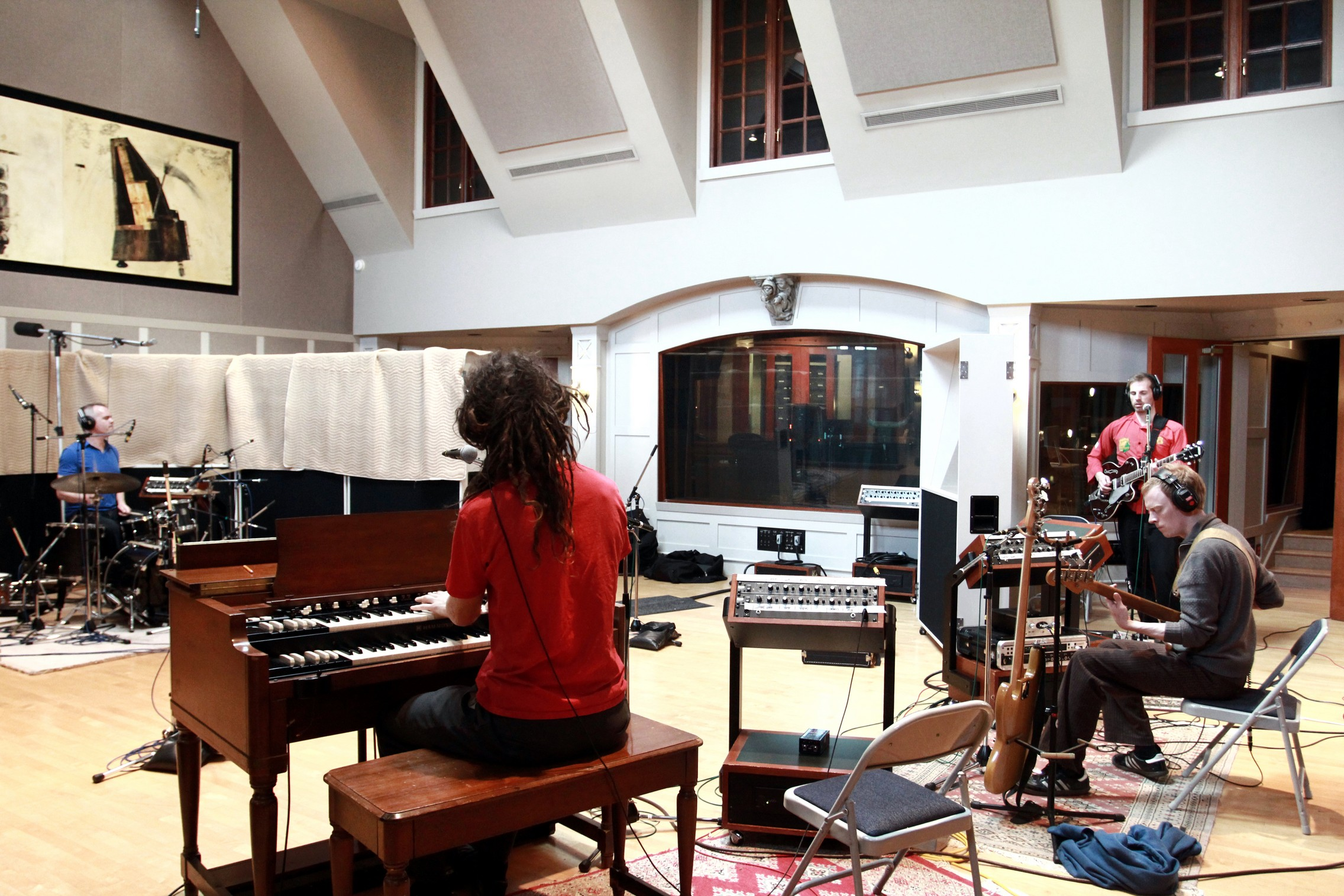 The Broken Mirrors recording