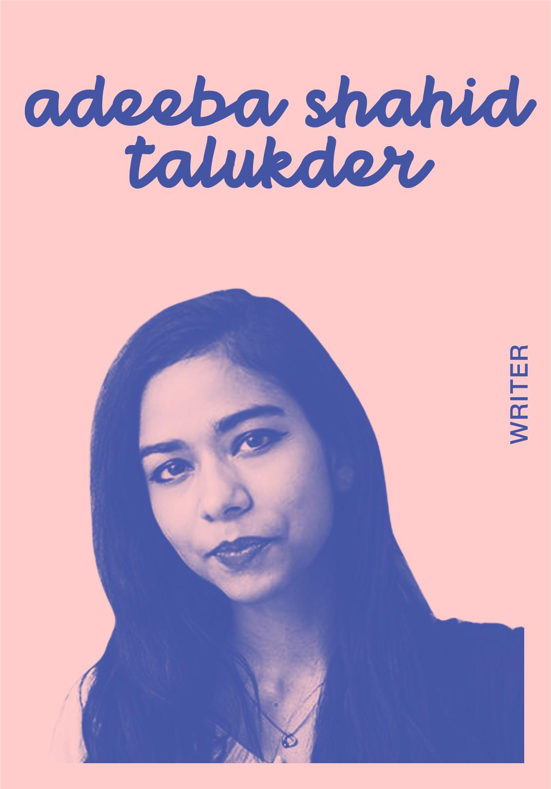 ADEEBA SHAHID TALUKDER   @Adeebaloo