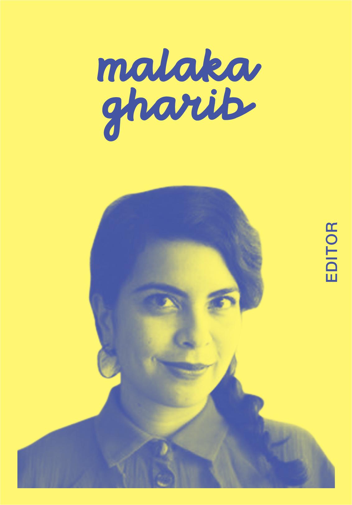 Malaka Gharib   @MALAKAGHARIB   IG: MALAKAGHARIB