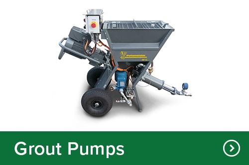 Grout pumps