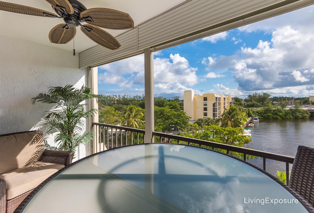 Royal Palm Way Boca Raton Fl - Water front view
