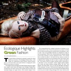 Ecologique Fashion