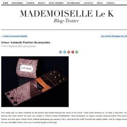 Mademoiselle Le K