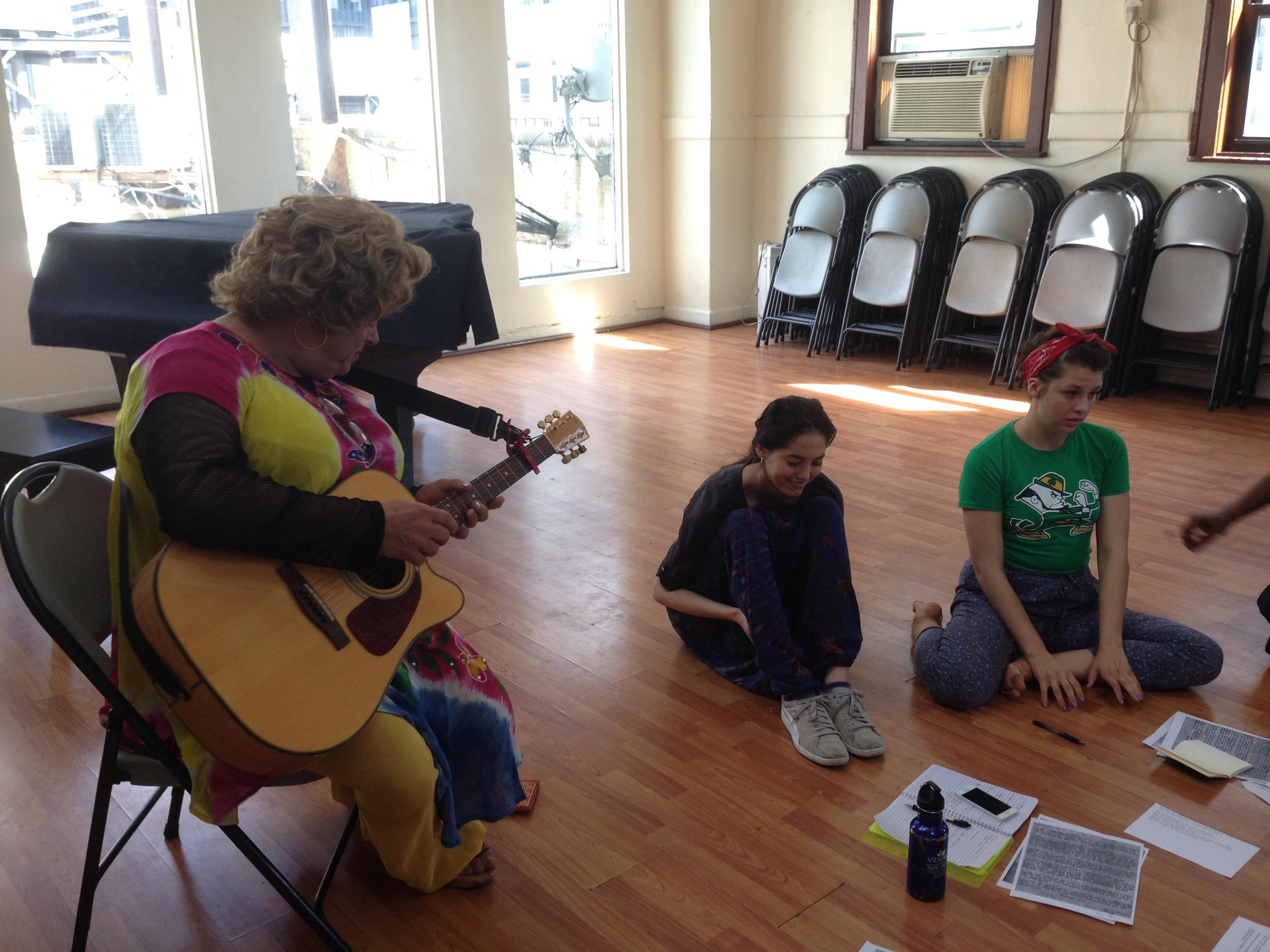 Yolanda, Leah & Lizzy Sing