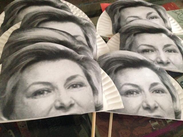 Marge Thrasher Mask