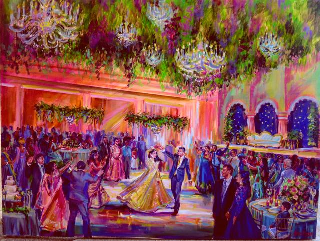The Langham Huntington, Pasadena Indian Wedding