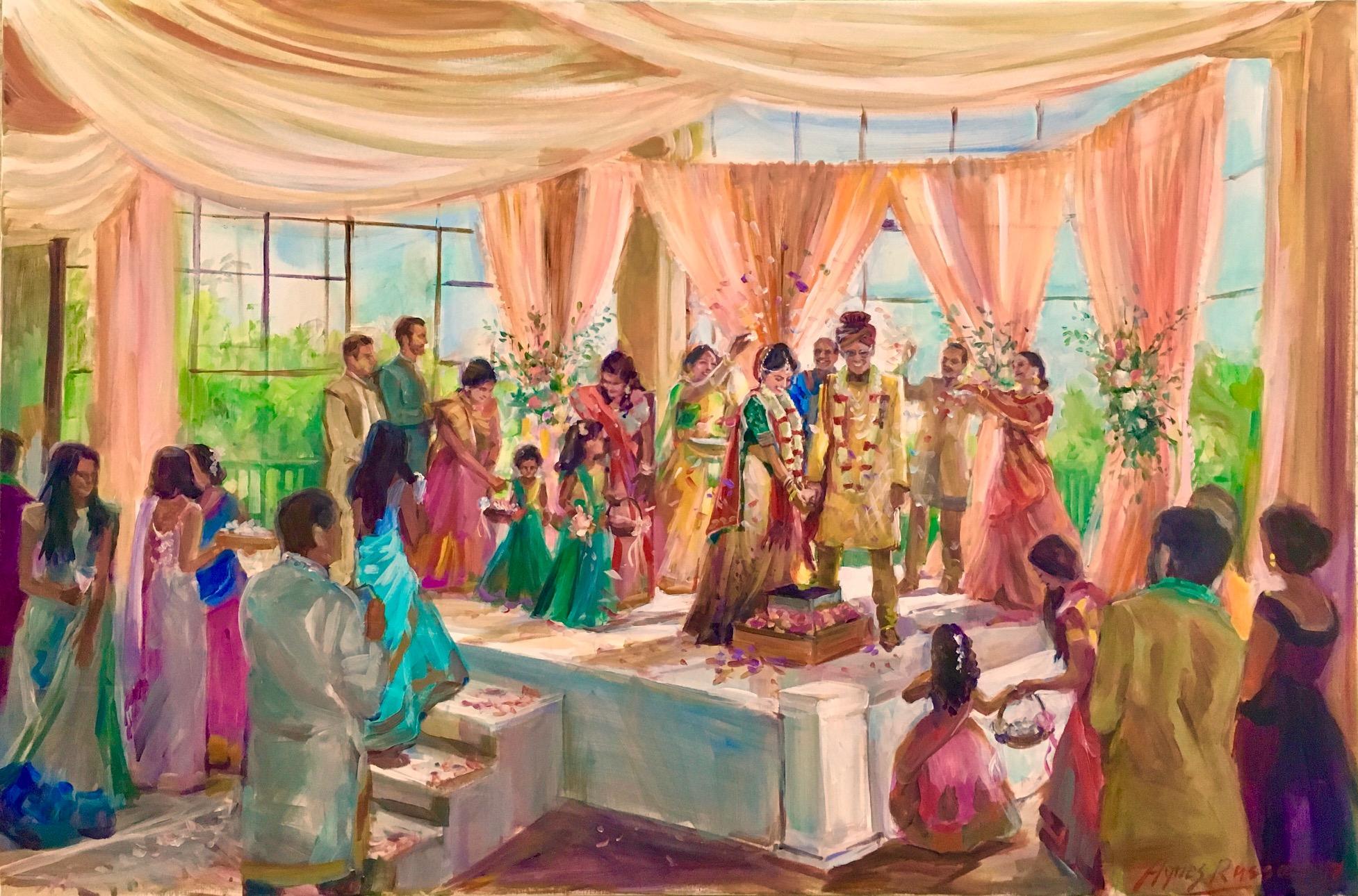 INDIAN WEDDING, MANDAP