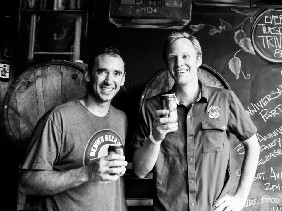 Cerveceria Colorado founders Patrick Crawford and Charlie Berger. Photo courtesy of Denver Beer Co.
