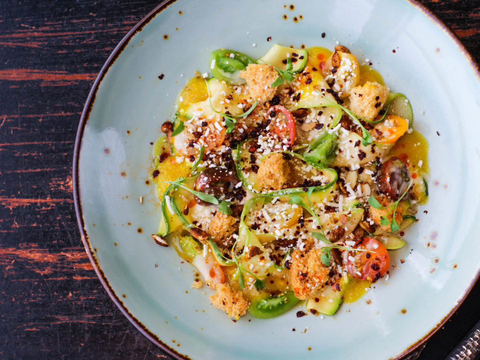 Padilla's Calabacitas salad is a must try. Photo courtesy of Tamayo